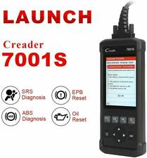 LAUNCH 7001S OBDII Scanner Automotive Code Reader ABS SRS Diagnostic Scan Tool