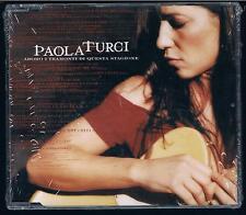PAOLA TURCI ADORO I TRAMONTI DI QUESTA STAGIONE CD SINGOLO SINGLE cds SIGILLATO