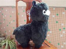 2017 Hot Huge Kawaii Black ALPACA Llama Cute Plush Alpacasso Arpakasso Toy Gift