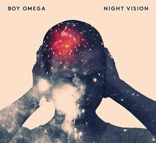 BOY OMEGA - NIGHT VISION  VINYL LP + CD NEU