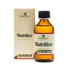 Olio Naturale per Capelli Secchi e Crespi Erbecedario