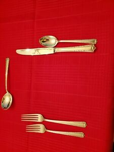 Processonal Sterling Silver by International 12 -5 Piece Place Settings++