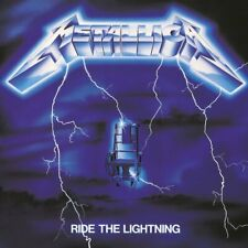 Metallica - Ride the Lightning (0.40lbs 1LP Vinyl) 1984/2016 Blackened New!