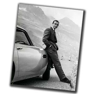 Sean Connery FINE ART Celebrities Retro Rare Photo Glossy Big Size 8X10in ε089