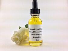 ANTI AGING FACIAL SERUM Sea Buckthorn Pumpkin Argan Oil - Firming Organic