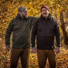 NEW Korda Kore Polar Fleece Jacket Hoody Charcoal Zip Top All Sizes - Fishing