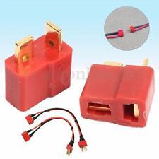 20Pcs 10 Pairs T Plug Male & Female Connectors Deans Style For RC LiPo Battery