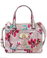 Guess Handbag Sac Large Forget Me Not Flower Rose Borsa Women Brand New