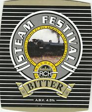 RCH BREWERY - STEAM FESTIVAL BITTER - PUMP CLIP FRONT