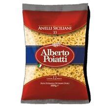 Pasta Anellini Siciliani Alberto Poiatti grano 100% Siciliano Anelletti Anelli