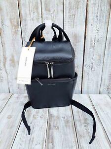 Anthropologie - Matt & Nat Vegan Dwell Brave Mini Backpack Bag In Black