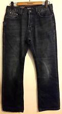 NEW Men's Firetrap Tokyo Mens Jeans Boot Dark Wash 30R