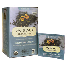 Numi Organic Tea Black Tea - Aged Earl Grey 18 Bag(S)