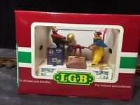 "LGB 22010 Circus Handcar Collection ""Rare"" NEW IN BOX"