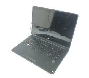 "14"" Dell Latitude E7450 Touchscreen Laptop i5-5300U 8GB 256GB *Missing Key/Crack"