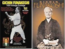 2 Dvd Set Shotokan Karate Gichin Funakoshi B/W historical martial arts