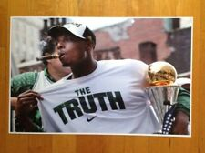 Paul Pierce The Truth 2008 Boston Celtics Championship Trophy Poster 17 X 11