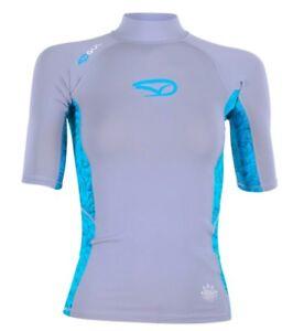 GUL Donna Unter Neoprene Manica Corta Shirt Ausschlagsweste Schwimm- Sonnenshirt