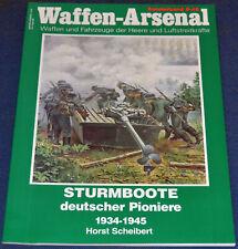 Sturmboote deutscher Pioniere 1934 - 1945 - Waffen-Arsenal Sonderband S-45