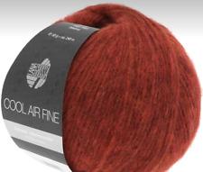 Nuevo : Cool Air Fino 50g Lana Grossa más Fina Lana Merino Color Color 08 = Rojo