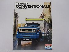 1975 Chevrolet Chevy Conventional Truck C50 C60 C65 Sales Brochure Literature