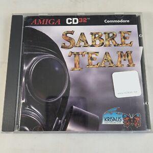 Amiga CD 32 CD32 Game - Sabre Team - tested & working - Complete CIB - RARE