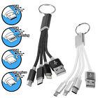 USB C Adapter Micro USB Kabel Lightning Ladekabel Ladeadapter Nylon Handy Tablet