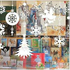 Wall Window Stickers Angel Snowflake Christmas Xmas Vinyl Art Decoration Decals