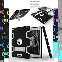 For Apple iPad Air 1st Gen Shockproof Rugged Rubber Hard Case Cover with Stand