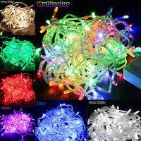 10M/20M 100/ 200LED Bulbs Christmas Fairy Wedding Party String Lights Waterproof