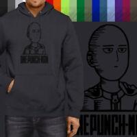 One Punch Man Saitama Sanchez OK Humor Unisex Pullover Sweatshirt Hoodie Sweater