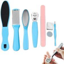 8Pcs Pedicure Kit Rasp Foot File Callus Remover Scraper Nail Care Tool Kits Set