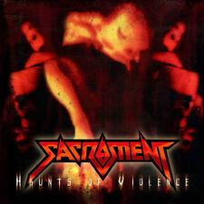 SACRAMENT - HAUNTS OF VIOLENCE (RED VINYL, 2017, Retroactive Records) Thrash