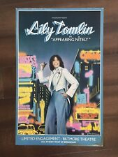 """14"""" X 22"""" Poster of the show """"Appearing Nitely""""-Starring Lily Tomlin"""