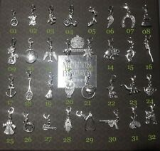 Charms Clip On Tibetan Silver Findings Bracelet Beads Charms Pendant Gift UK A