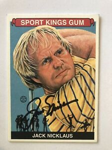 JACK NICKLAUS Signed 2010 Sport Kings Golf Champion MASTERS Ryder Cup US Open