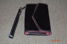 I PHONE 4, SE BLACK CLUTCH - NEW