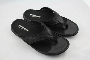 Comforthotics® Men's Summer Flip Flop Leather Sandal Orthotic Arch Support 1251