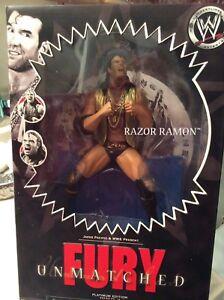 WWE Unmatched Fury Razor Ramon Collectable Wrestling Figure