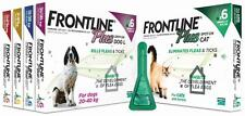 Puppies & Dogs FLEA TICK CONTROL med protection 20 doses treatment free shipping