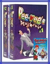 PEE-WEE'S PLAYHOUSE # 1 & 2 + CHRITMAS SPECIAL /45 EPISODES NEW!!!  FREE SHIP!!!