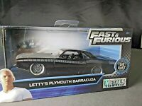 Fast & Furious Letty's Plymouth Barracuda Collectors Series Diecast 1:32 Scale