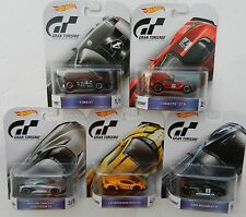 Hot Wheels *GRAN TURISMO* 5 CAR SET *NISSAN GTR Corvette Ford GT Lamborghini*