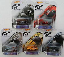 Hot Wheels *GRAN TURISMO* 5 CAR SET *NISSAN GTR Corvette Ford GT Lamborghini*
