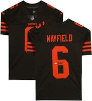 Baker Mayfield Cleveland Browns Autographed Brown Nike Limited Jersey