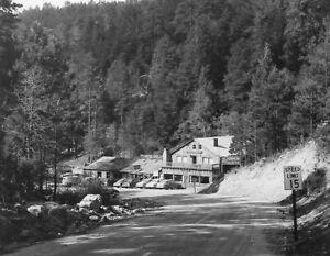 Mt Lemmon Store & Inn Summerhaven AZ RPPC Kodak  B&W Photo Postcard 1940s 1950s