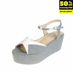 RRP €255 L'AUTRE CHOSE T-Strap Sandals EU 38 UK 5 US 8 Platform Made in Italy