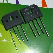 5 PCS KBU1010 SIP-4 KBU 1010 10A BRIDGE RECTIFIER
