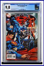 Superman Batman #36 CGC Graded 9.8 DC August 2007 White Pages Comic Book