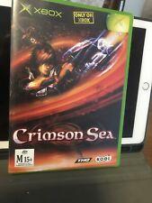 Crimson Sea For The Xbox Original Very Rare Australian Version